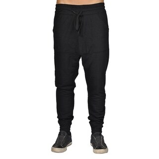 Men's Harem Trousers Hip Hop Nice Drop Joggers Black