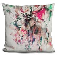 Lilipi Elephant Ii Decorative Accent Throw Pillow