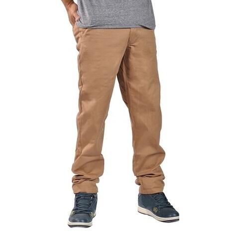 Dirty Robbers Chino Pants Ziper Closure Khaki