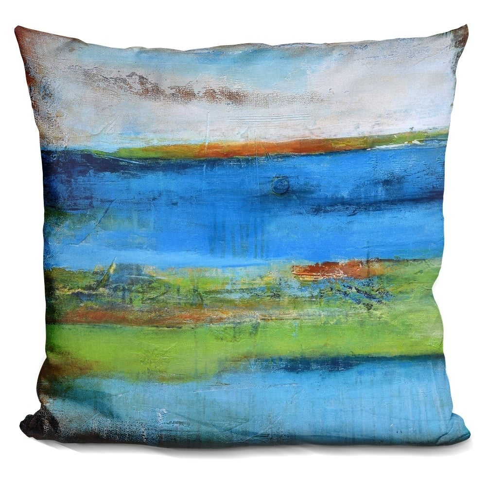 Lilipi Blue Ridge Escape I Decorative Accent Throw Pillow...