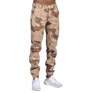 Men's Chino Jogger Pants Desert