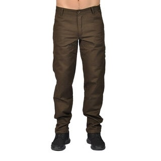 Dirty Robbers Chino Pants Ziper Closure Mid Brown