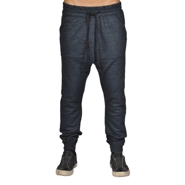 Men's Harem Trousers Hip Hop Nice Drop Joggers Dark Grey