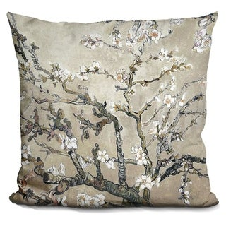 Lilipi Almond Branches Decorative Accent Throw Pillow