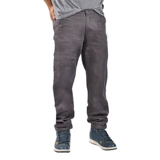 Dirty Robbers Chino Pants Ziper Closure Charcoal