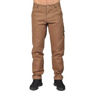 Men's Fashion Chino Pants with Side Pocket Khaki