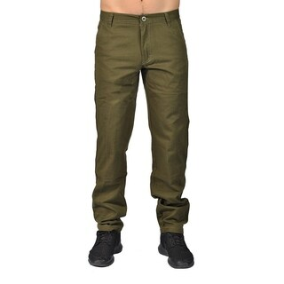 Dirty Robbers Chino Pants Ziper Closure Loden