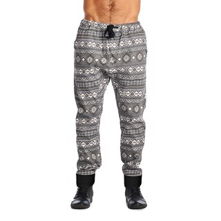 Dirty Robbers Mens Elastic Waistband Joggers Tribal
