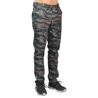 Dirty Robbers Fashion Chino Pants Straight Fit Tiger