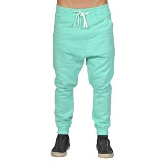 Men's Harem Trousers Hip Hop Nice Drop Joggers Turquoise|https://ak1.ostkcdn.com/images/products/18549934/P24650482.jpg?impolicy=medium