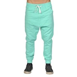 Men's Harem Trousers Hip Hop Nice Drop Joggers Turquoise