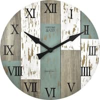 FirsTime® Timberworks Wall Clock