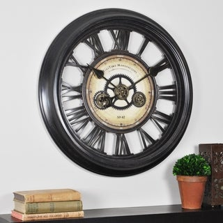 FirsTime® Gear Works Wall Clock - 24""