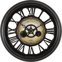 FirsTime® Gear Works Wall Clock
