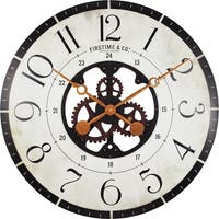 FirsTime® Carlisle Gears Wall Clock - 27""