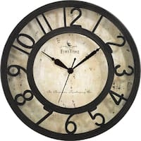 FirsTime® Raised Number Wall Clock - 8""