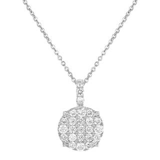 14K White Gold 1 Carat Diamond Cushion Shape Pendant|https://ak1.ostkcdn.com/images/products/18550117/P24655275.jpg?impolicy=medium