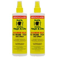 Jamaican Mango & Lime 16-ounce No More Itch Gro Spray Maximum Relief (Pack of 2)