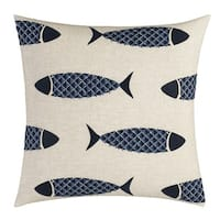 Nautica Lockridge Fish Throw Pillow
