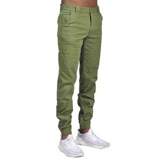 Men's Chino Jogger Pants Olive