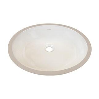 Sink - Ceramic Undermount-Biscuit