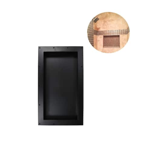 """Ready For Tile Leak Proof 16"""" x 28"""" Square Bathroom Recessed Shower Shelf Shower Niche Storage For Shampoo and Toiletry Storage"""