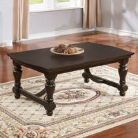 Best Quality Furniture Cappuccino 3-Piece Coffee, End and Console Table Set