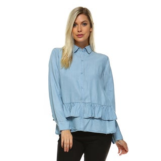 Domu Bottom Ruffled Shirt
