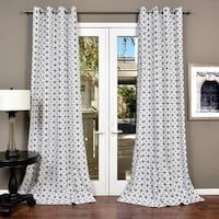 Lambrequin Metro Cotton Curtain Panel - N/A