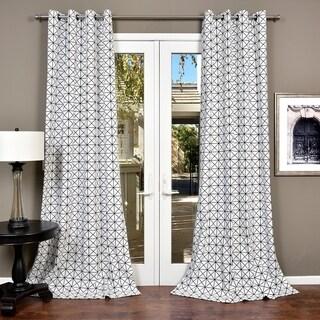 Lambrequin Metro Cotton Curtain Panel