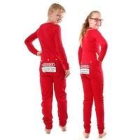 bfe49cc95c Shop Dinosaur Union Suit Boys   Girls one piece Pajamas T-Rex on ...