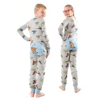 Link to Dinosaur Union Suit Boys & Girls one piece Pajamas T-Rex on Rear Flap Similar Items in Boys' Clothing
