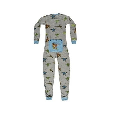 95626c1fb Shop Dinosaur Union Suit Boys   Girls one piece Pajamas T-Rex on ...