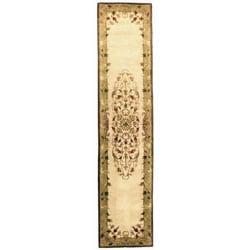 Safavieh Handmade Heritage Timeless Traditional Beige Wool Runner (2'3 x 8')