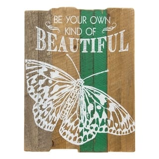 Beautiful Butterfly Slat Sign|https://ak1.ostkcdn.com/images/products/18573347/P24676211.jpg?impolicy=medium