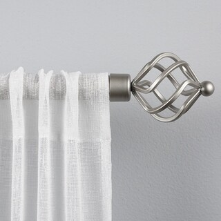 "ATI Home Torch 1"" Curtain Rod and Finial Set"