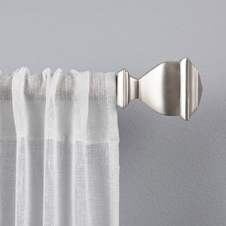 "ATI Home Napoleon 1"" Curtain Rod and Finial Set"