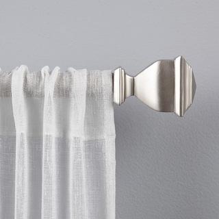 Porch & Den Granada 1-inch Curtain Rod and Finial Set