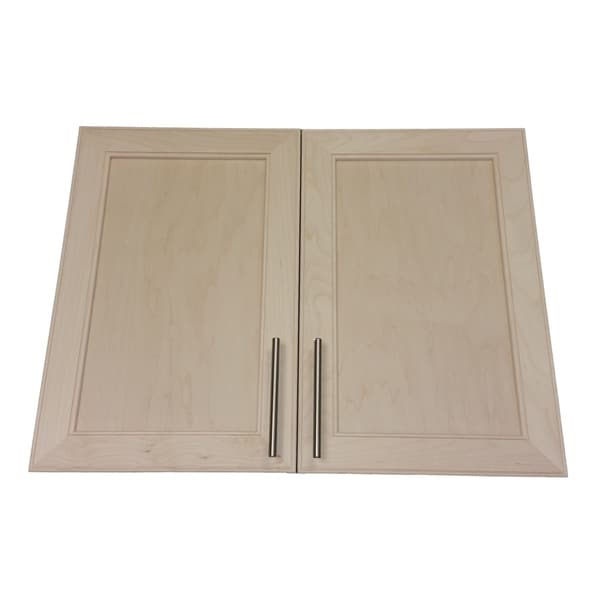 bare kitchen cabinets shop on wall door frameless medicine 1483