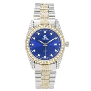 Dakota Womens Jean Paul Big Bling 37mm Jeweled Watch