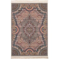 eCarpetGallery Persian Collection Isfahan Brown Power-loomed Rug - 6'7 x 9'10