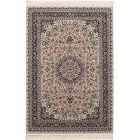 eCarpetGallery Persian Collection Tabriz Brown Power-loomed Rug - 6'7 x 9'10