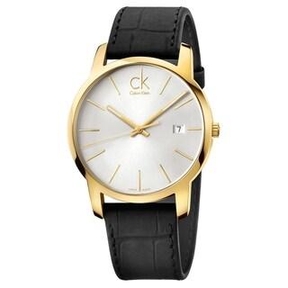 Calvin Klein City K2G2G5C6 Men's Watch