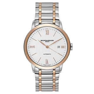 Baume and Mercier Classima Executives MOA10217 Men's Watch|https://ak1.ostkcdn.com/images/products/18573828/P24676613.jpg?impolicy=medium