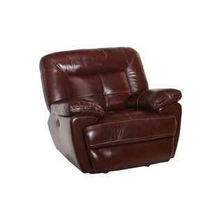Dale Leather Power Glider Recliner