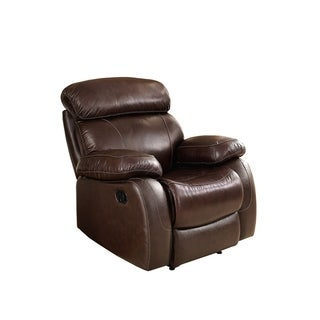 Madras Leather Power Recliner