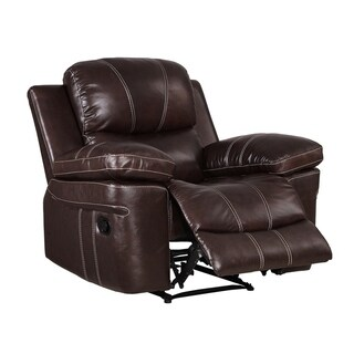 Dante Leather Glider Recliner