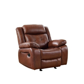 Ritter Leather Glider Recliner