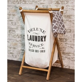 Deluxe Laundry Basket