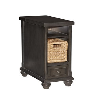 Powell Hudson Wood End Table